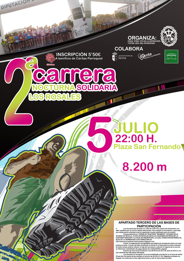 II CARRERA SOLIDARIA NOCTURNA LOS ROSALES - Inskriba zaitez