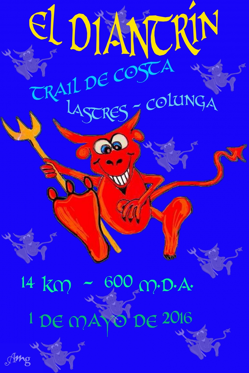 Cartel I TRAIL COSTERO DE COLUNGA