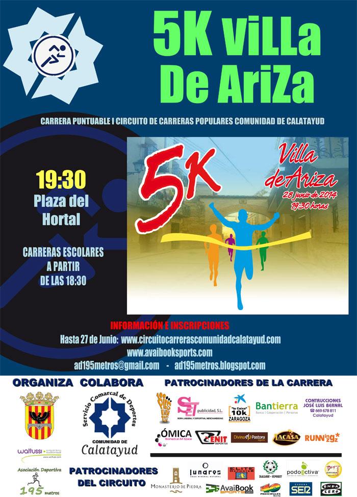 5K VILLA DE ARIZA - Inskriba zaitez