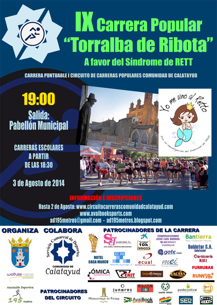 CARRERA TORRALBA DE RIBOTA - Register
