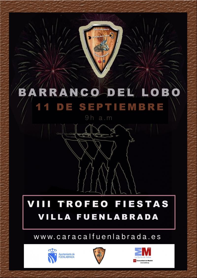 "VIII TROFEO FIESTAS ""VILLA DE FUENLABRADA""  - Inskriba zaitez"