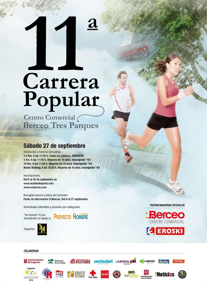 XI CARRERA POPULAR TRES PARQUES - C.C. BERCEO-EROSKI - Register
