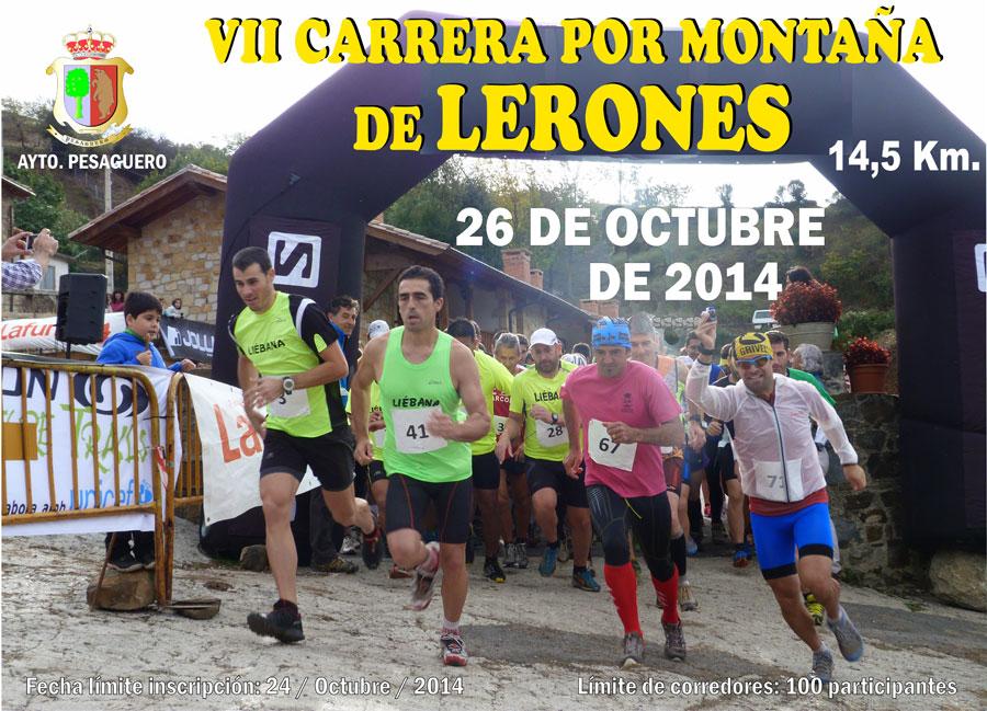 CARRERA POR MONTAÑA LERONES - Inscrivez-vous