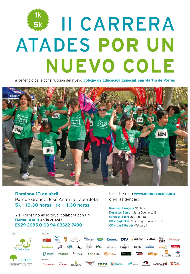 II CARRERA ATADES POR UN NUEVO COLE  - Register