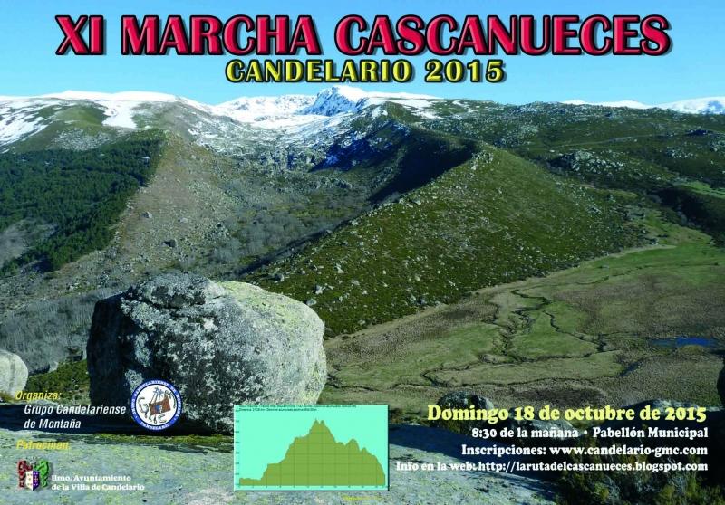 XI MARCHA CASCANUECES (CANDELARIO) - Inscreva-se