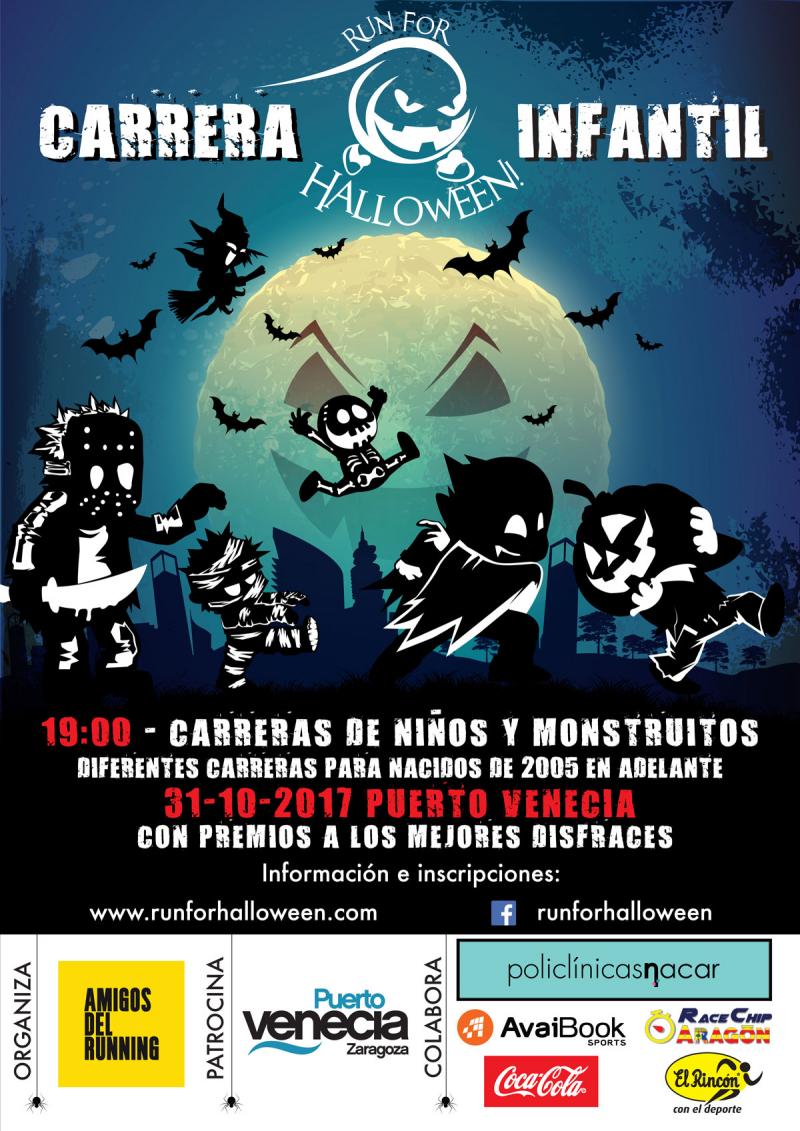 Carrera infantil run for halloween 2017 31 10 2017 puerto venecia - Dias de apertura puerto venecia 2017 ...