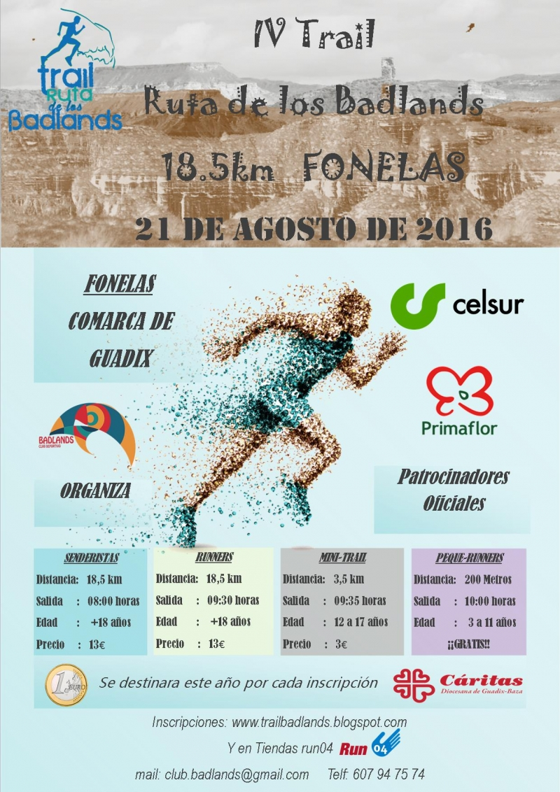 4º TRAIL RUTA DE LOS BADLANDS - Register