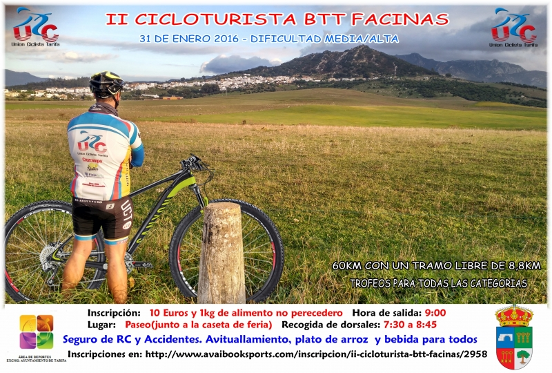 II CICLOTURISTA BTT FACINAS - Register