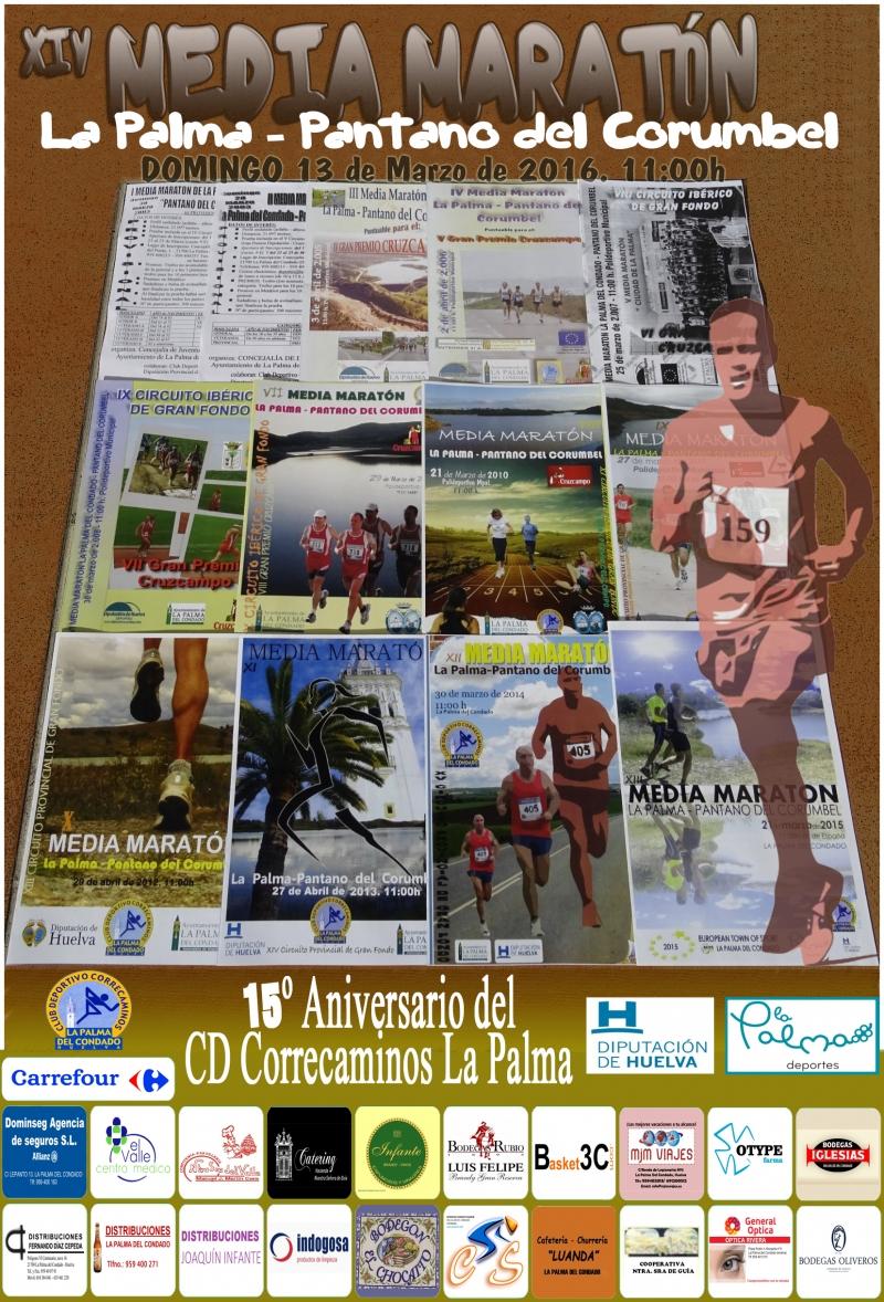 XIV MEDIA MARATÓN LA PALMA DEL CONDADO - PANTANO DEL CORUMBEL - Inscrivez-vous