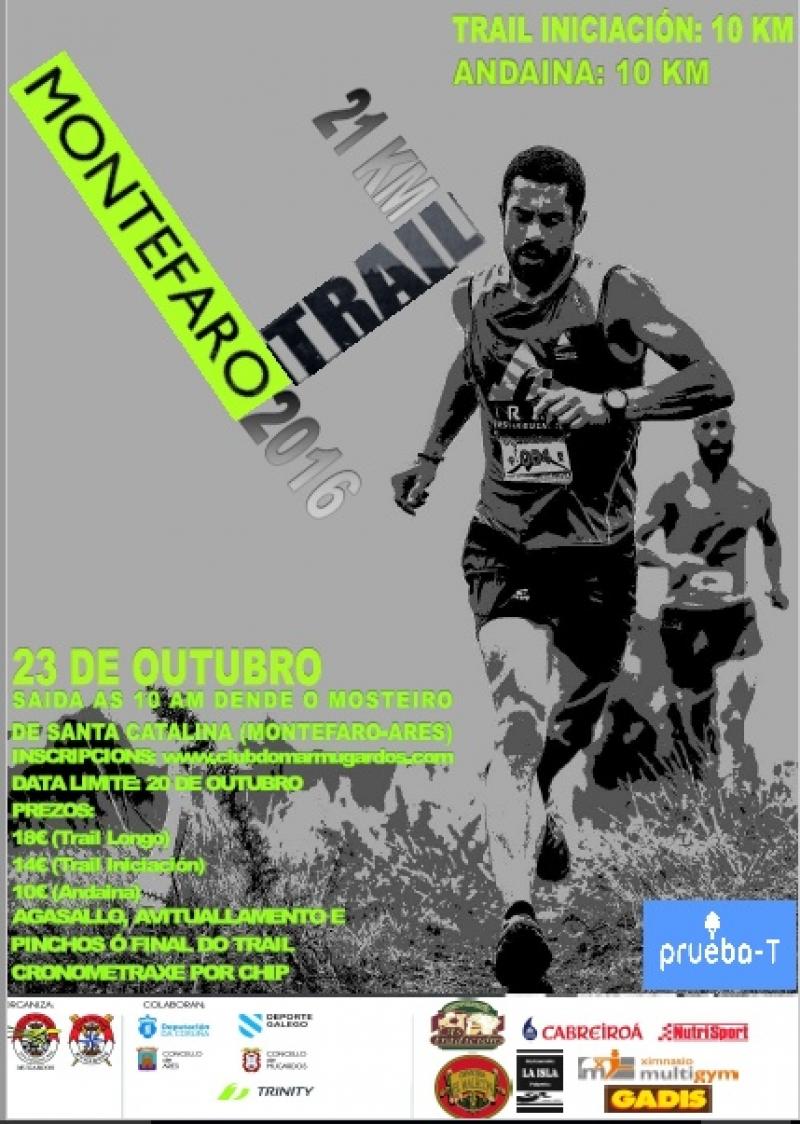 Cartel del evento IV TRAIL MONTEFARO