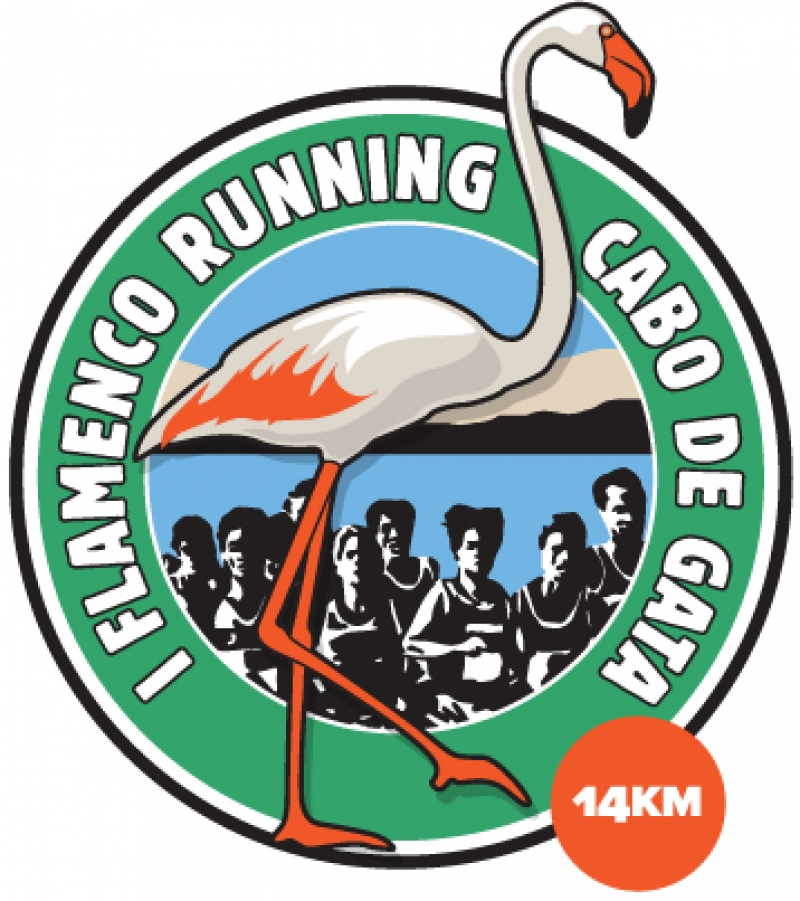 Cartel del evento I FLAMENCO RUNNING CABO DE GATA