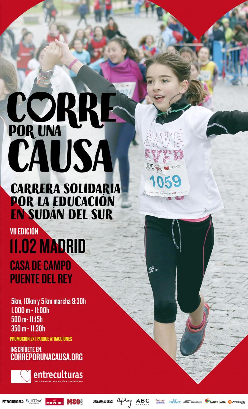 CORRE POR UNA CAUSA: MADRID - Inscríbete