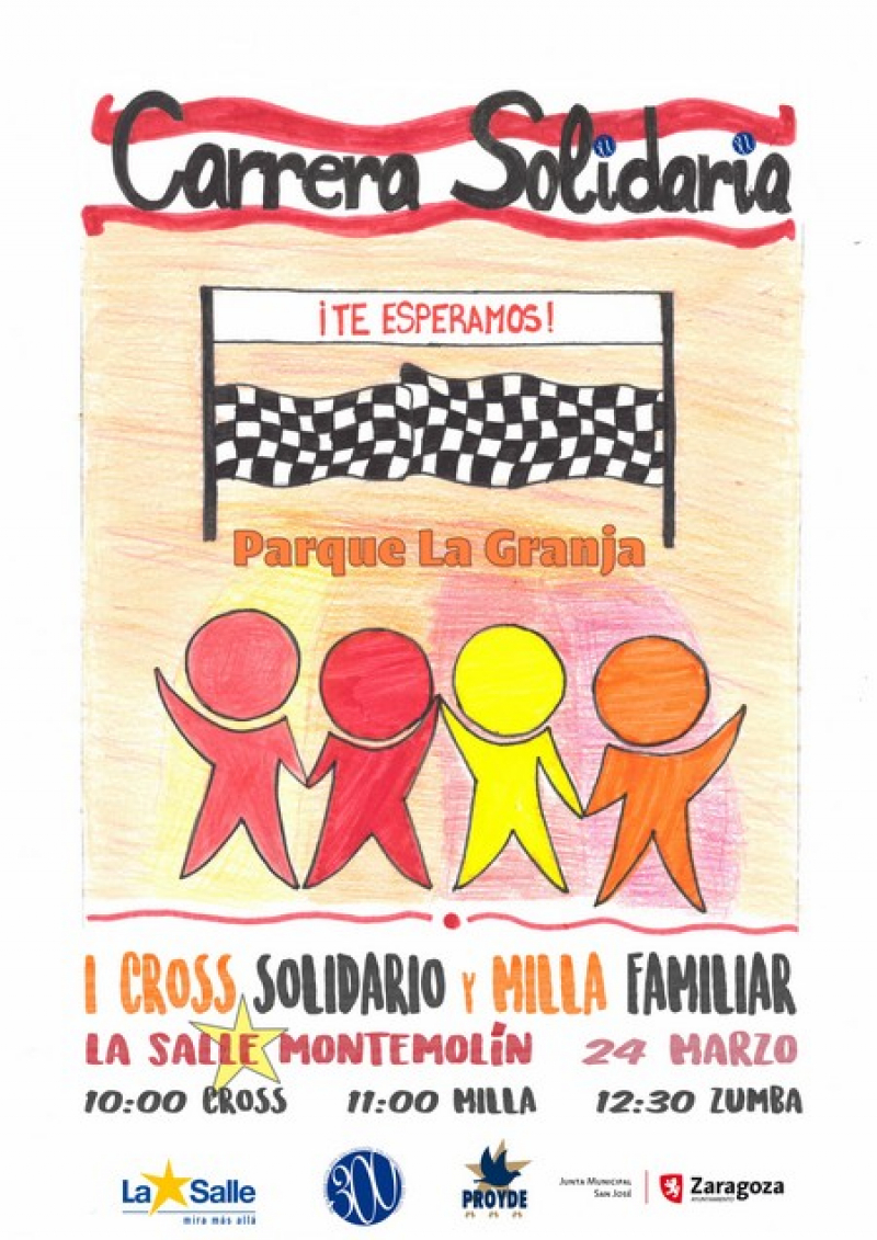 I CROSS SOLIDARIO Y MILLA FAMILIAR LA SALLE MONTEMOLIN - Inscríbete