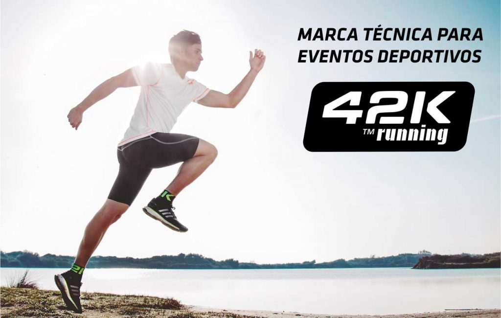 42K Running - Marca Técnica para Eventos Deportivos
